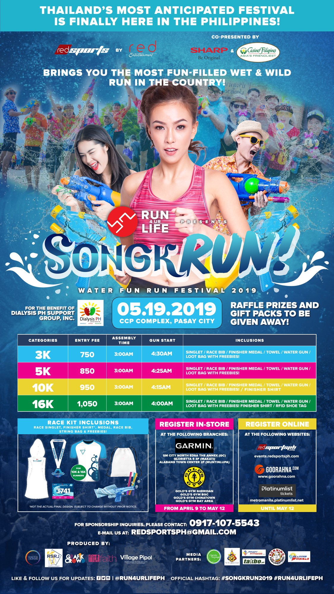 SongkRUN Updated Poster